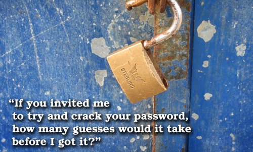 Cracking your password
