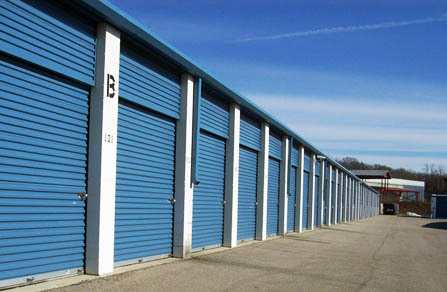 self-storage unit