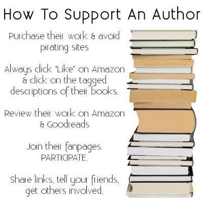 How to Support an Author – We've Written for You!