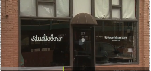 Studioboro in Downtown Greensboro