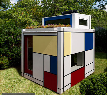 How About a Mini House in Your Yard?